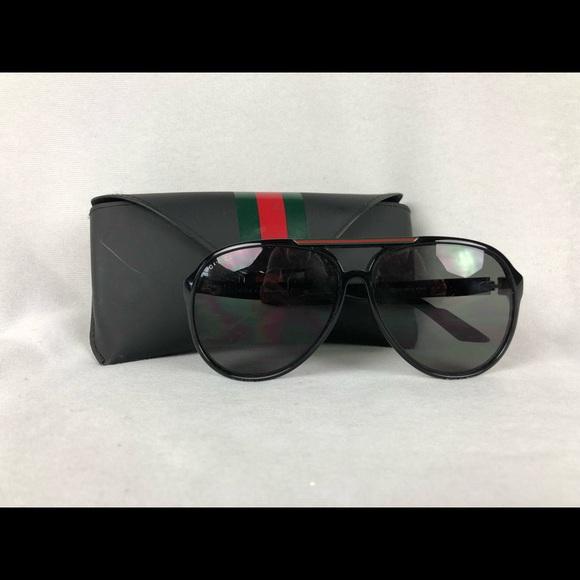 07164b984f Gucci Other - Pre owned Gucci men s aviator sunglasses